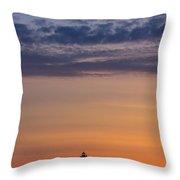 Sunrise Genesis Throw Pillow