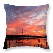 Sunrise Glory Throw Pillow