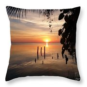 Sunrise Hang Throw Pillow
