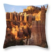 Sunrise In Bryce 2 Throw Pillow