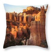 Sunrise In Bryce Throw Pillow
