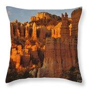 Sunrise In Fairyland Throw Pillow