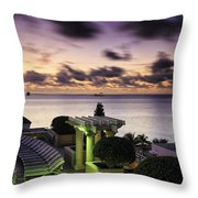 Sunrise In Ft. Lauderdale Throw Pillow