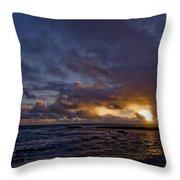 Sunrise In Paradise Throw Pillow