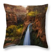 Sunrise In Paradise Throw Pillow