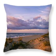 Sunrise In Rodanthe Throw Pillow