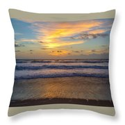 Sunrise In Salvo Throw Pillow