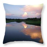 Sunrise In Sarasota Throw Pillow