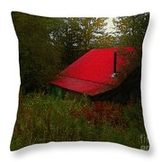 Sunrise In The Hollow Throw Pillow