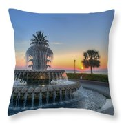 Sunrise In The Lowcountry Throw Pillow