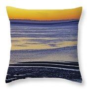 Sunrise Ipswich Bay Throw Pillow
