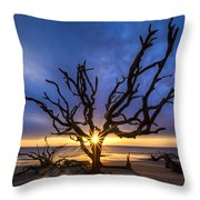 Sunrise Jewel Throw Pillow