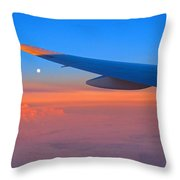 Sunrise Middle East Throw Pillow