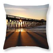 Sunrise Myrtle Beach State Park Throw Pillow
