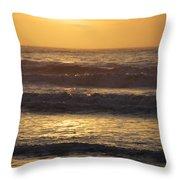Sunrise Newport Ri Winter 2013 Throw Pillow
