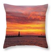 Sunrise Of Hope Throw Pillow