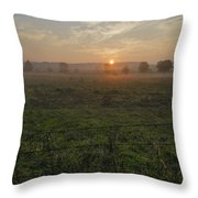 Sunrise On A New Day Throw Pillow