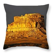 Sunrise On Fajada Butte Throw Pillow