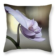 In Silence I Stand Throw Pillow