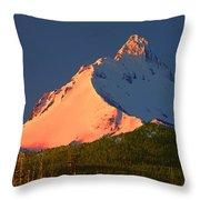 1m5306-sunrise On Mt. Washington Throw Pillow