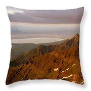Da5901-sunrise On Steens Mountain Throw Pillow