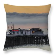 Sunrise On The Bay Throw Pillow by Bruce Frye