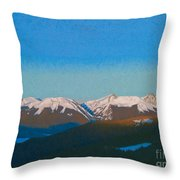 Sunrise On The Gore. Throw Pillow