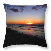 Sunrise On The Gulf Throw Pillow