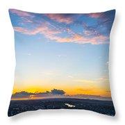 Sunrise On The Horizon Throw Pillow
