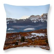 Sunrise On The San Juans Throw Pillow
