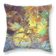 Sunrise One Throw Pillow