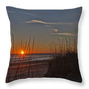 Sunrise Outer Banks Norht Carolina Img_3721 Throw Pillow