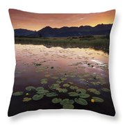 Sunrise Over Granadier Range Molas Pass Throw Pillow