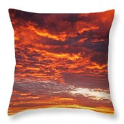 Sunrise Over Ireland Throw Pillow
