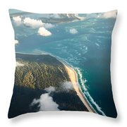 Sunrise Over Paradise Throw Pillow