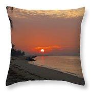 Sunrise Over The Horizon Throw Pillow
