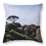 Sunrise Over The Majestic Western Ghats Throw Pillow