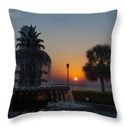 Lowcountry Pineapple Throw Pillow