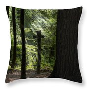 Sunrise Prayer Throw Pillow