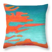 Sunrise Pursuit Throw Pillow