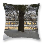 Sunrise Reflection Throw Pillow