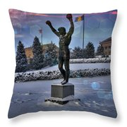 Sunrise Rocky Flared Throw Pillow