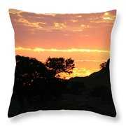 Sunrise Scenery Throw Pillow
