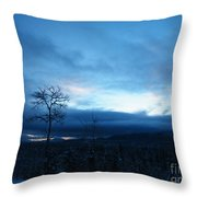 Sunrise Sentinel Throw Pillow