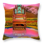 Sunrise Service Throw Pillow