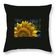 Sunrise Sunflower Throw Pillow