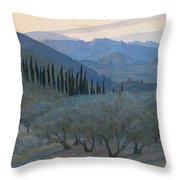 Sunrise Umbria 1914 Throw Pillow
