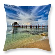 Sunscape Sabor Pier Throw Pillow