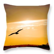 Sunscaped Throw Pillow