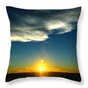 Sunset @ Chesapeake Bay-2 Throw Pillow